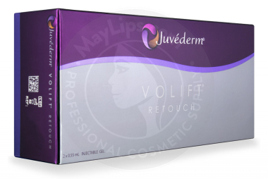 JUVEDERM® VOLIFT RETOUCH /Lidocaine 0,55mL 2 pre-filled syringes