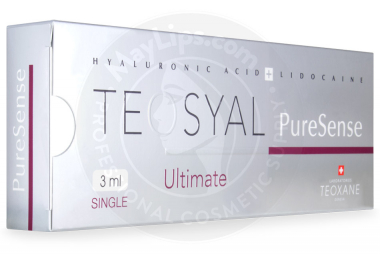 TEOSYAL® PURESENSE ULTIMATE 3mL 66mg, 9mg 1-3ml prefilled syringe
