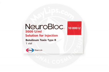 Image of NeuroBloc MyoBloc products you can buy with our help