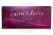 Image shows front side of authentic box of JUVEDERMu00ae ULTRA 3