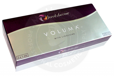 JUVEDERM® VOLUMA™ With Lidocaine 20mg/ml, 3mg/ml 2-1ml prefilled syringes